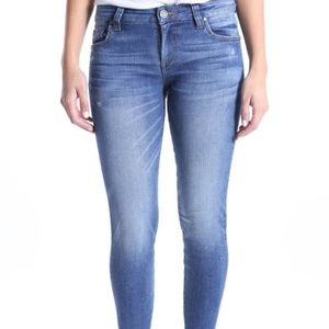 Kut From the Kloth Connie Fray Hem Skinny Jeans